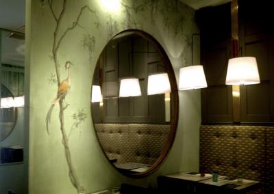 Restaurant-Toc-de-Gracia-Mural-Pintora-Artistica-Carol-Moreno-Wall-Mural-Art