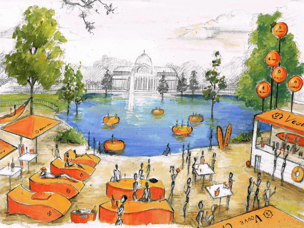 Ilustracion-Veuve-Clicquot-Pintora-Artistica-Carol-Moreno