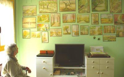 Compartiendo Arte y pintura con mi Abuela