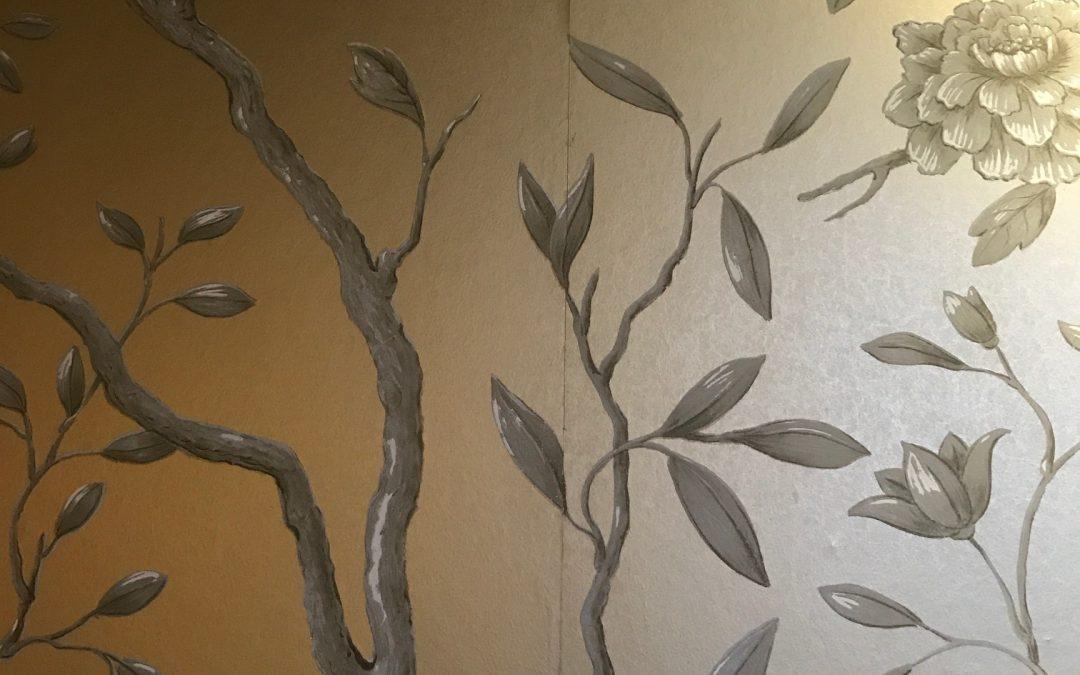 5 Ventajas de los Murales pintados vs. Papel o vinilo