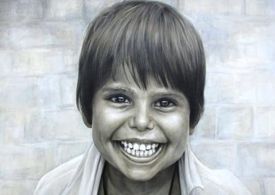 El-nino-rostro-cuadro-pintora-artistica-carol-moreno-wall-mural-art-painting