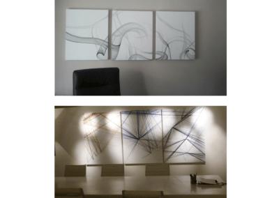 Cuadros modernos abstractos Carol Moreno Portraits