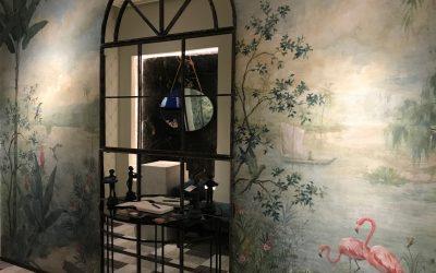 Pintura Mural en Casadecor