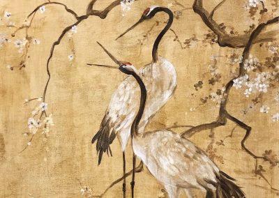 carol-moreno-murales-pintados-paredes-japones-garzas-pitura-asiatica-muralista-pintor