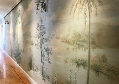 carol-moreno-murales-y-cuadros-pintura-mural-pasillo-decoracion-arte-paisaje-pintado-a-mano-wall-art-painting-landscape-muralist
