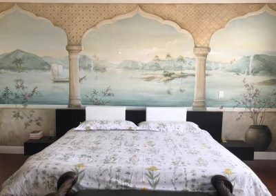 carol-moreno-pintura-mural-wall-art-painter-artist-muralist-paredes-pinadas-habitacion-paisaje-painting
