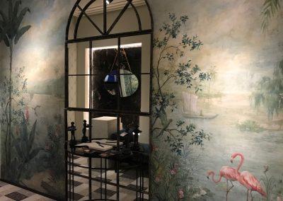 casa-decor-murales-pintados-blanca-hevia-inteiorista-carol-moreno-lara-pintora-muralista-obras-pintadas-a-mano-paisajes-