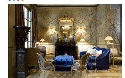 Nacho Viñau Ena editor de Decoesfera nos elige como tendencia y solución para vestir estancias exclusivas.